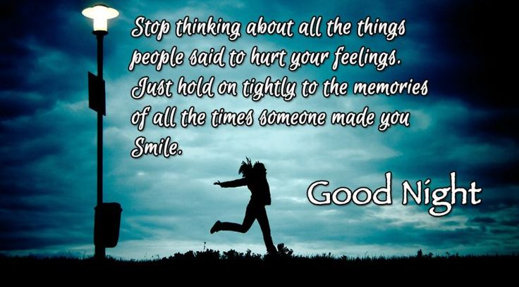 Hold your Memories and Smile #goodnight #gn #quotes