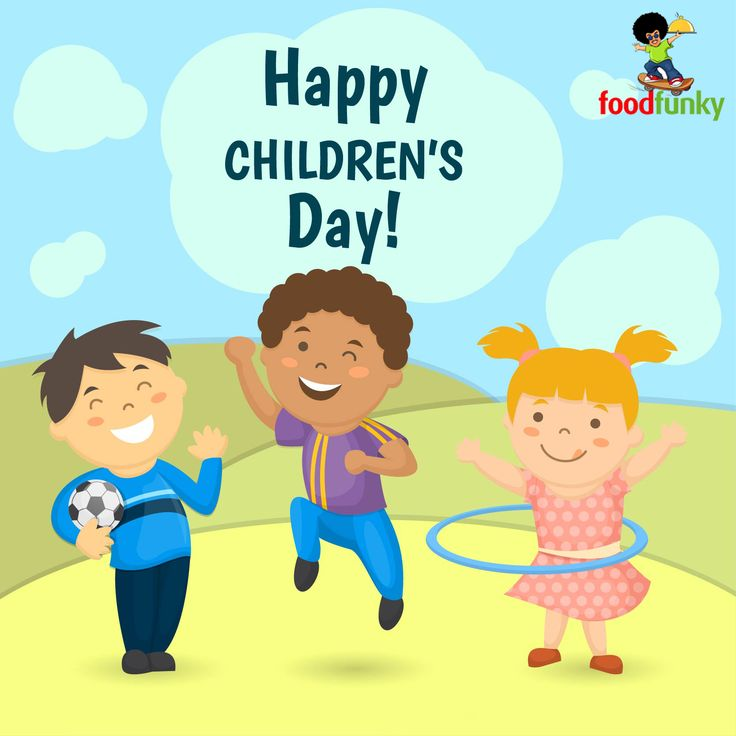 Childhood is about innocence and playfulness. It is about joy and freedom. Happy Children's Day.
