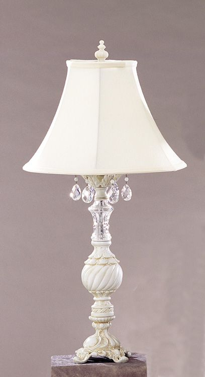 The 25 Best Shabby Chic Table Lamps Ideas On Pinterest