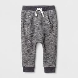 Baby Boys' Jogger Pants - Cat & Jack™ Charcoal