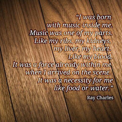 Listen to #RayCharles!