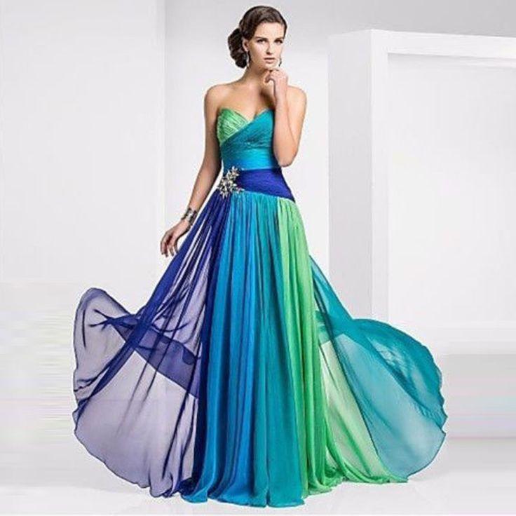 Stylish Chiffon Long Dress