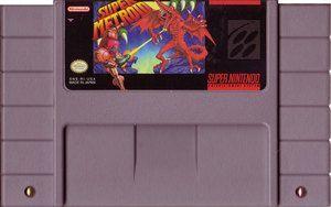 Super Metroid SNES Game Cartridge | DKOldies.