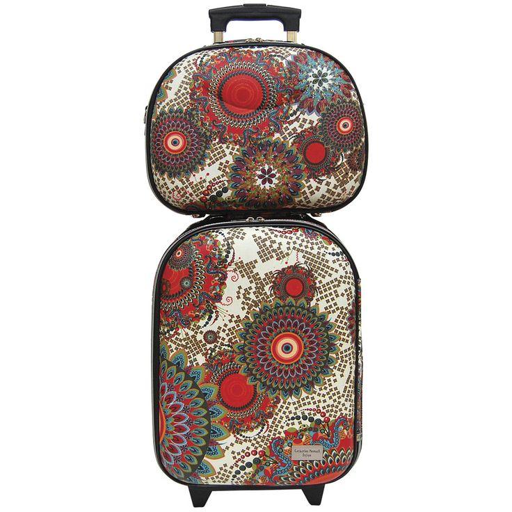 Airport Trolley Set - Ceramic Flower - Catherine Manuell Design