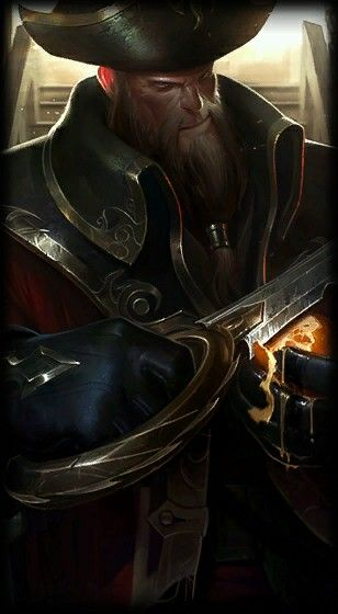 League of Legends- Gangplank, The Saltwater Scourge