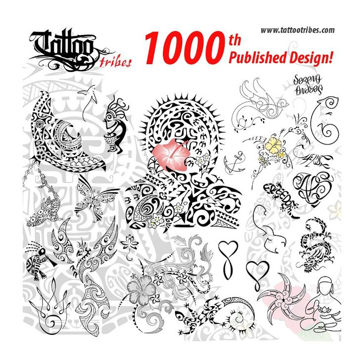 Feb.18th, 2015 TattooTribes published its 1000th design!
