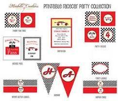 Hasil gambar untuk printable race car signs