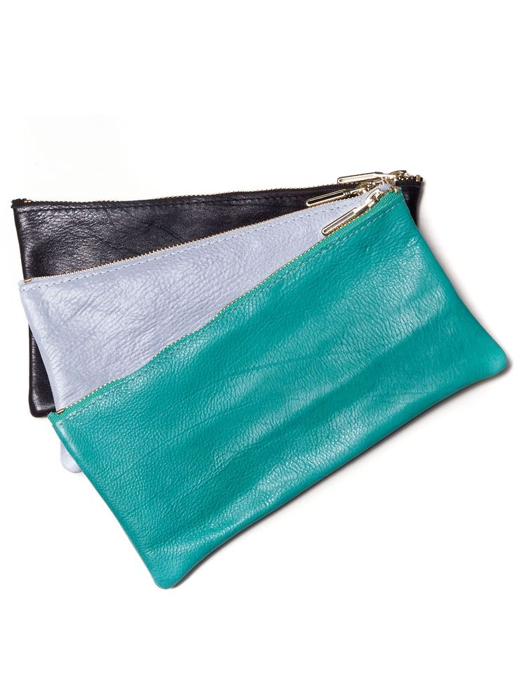 Colourful women leather wallets by Vassilis Thom