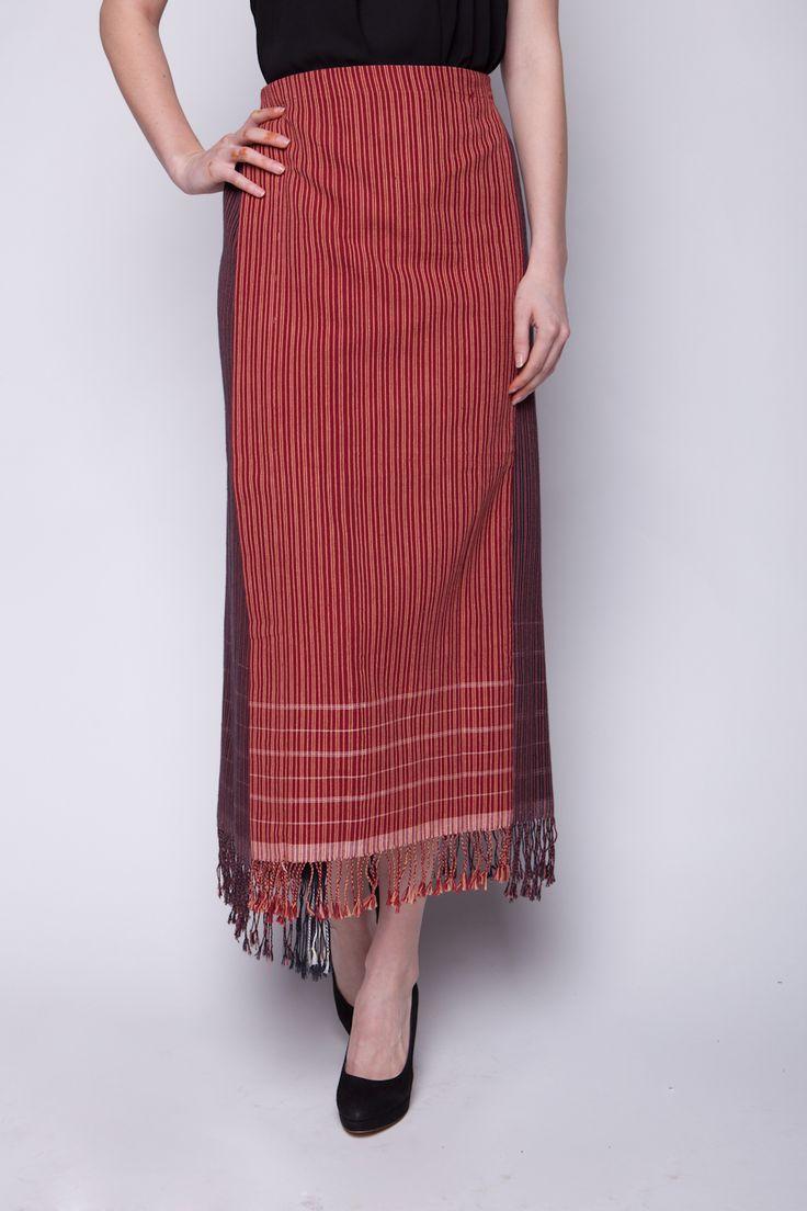 Lekat Wrap Skirt Tenun