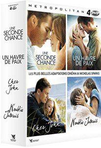 Coffret Nicholas Sparks : Une seconde chance + N'oublie jamais + Cher John + Un havre de paix
