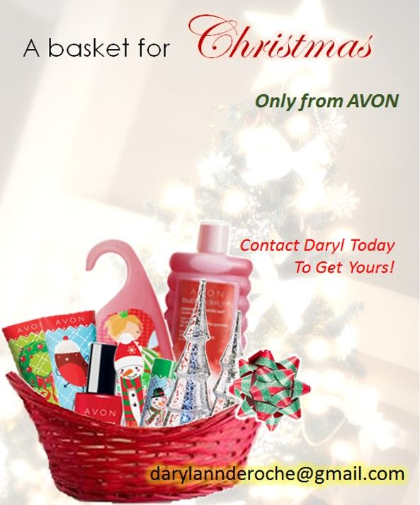 13 best avon gift basket ideas images on pinterest avon gift how about a custom avon gift basket for the holidays2014 negle Image collections