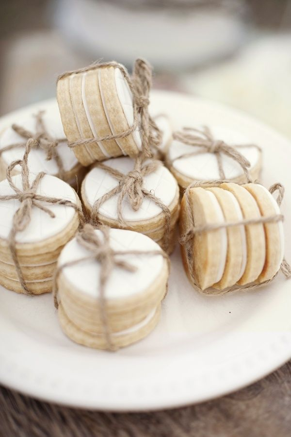 Twine-Wrapped Sugar Cookies