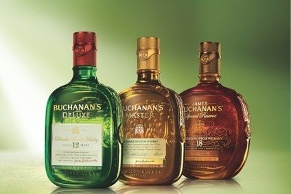 Diageois to introducenew packaging for three of its four Buchanan's Scotch whiskyblends in the US: Buchanan's DeLuxe, Buchanan's Masterand Buchanan's Special Reserve. Buchanan's Red Sealwill follow in 2016.