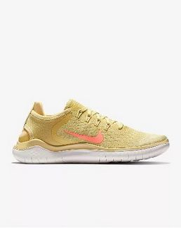 7c8c46707b4e Factory Authentic Nike Free RN 2018 Summer Lemon RUNNING SHOES AO1911-700  Wash Fossil Sail Buff Gold For Sale