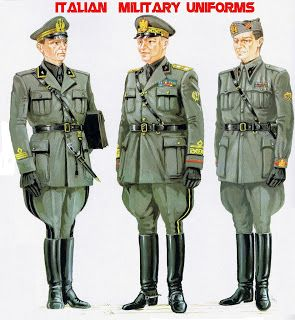 Tall boots in art italian military uniforms of ww2 1940 for Uniform spa italy