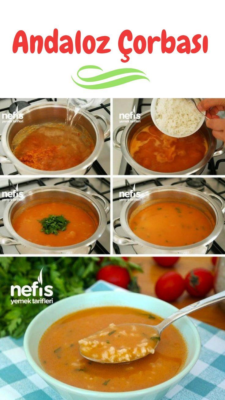 Videolu anlatım Andaloz Çorbası Tarifi (videolu) nasıl yapılır? 1.570 kiş…