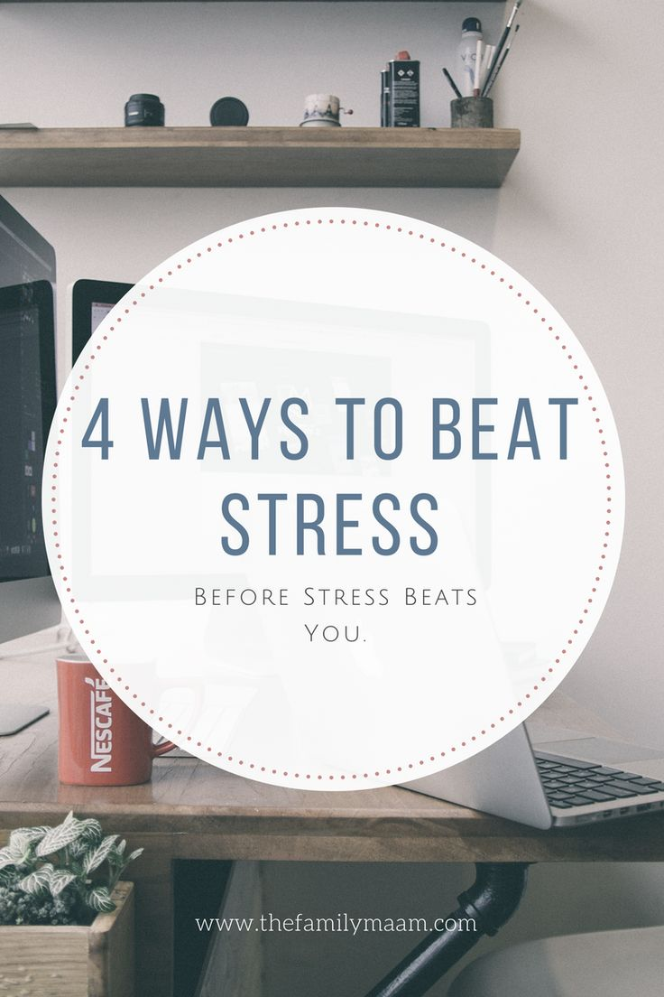 A complete guide to beating stress BEFORE it beats you.