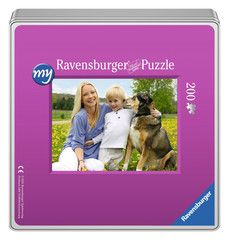 my Ravensburger Puzzle - 200 Pieces in a Tin - image 1 - Click to Zoom