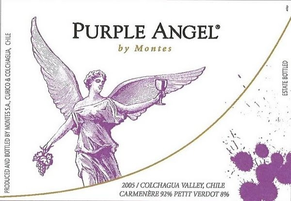 Montes Purple Angel Carmenere, Colchagua Valley, Chile
