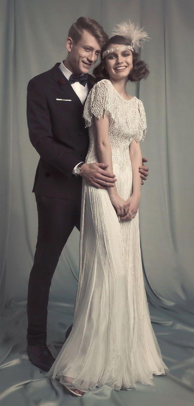 Hila Gaon 2017 Wedding Dress Vintage Wedding Dress Tea Length Wedding Dress Lace Vintage Wedding Dress 1920s Wedding Dresses Vintage 20s 1920s Wedding Dress