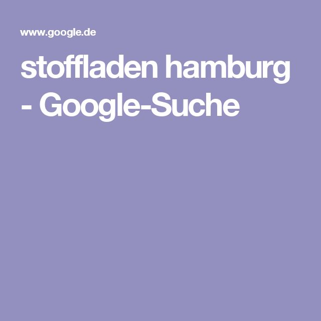 stoffladen hamburg - Google-Suche