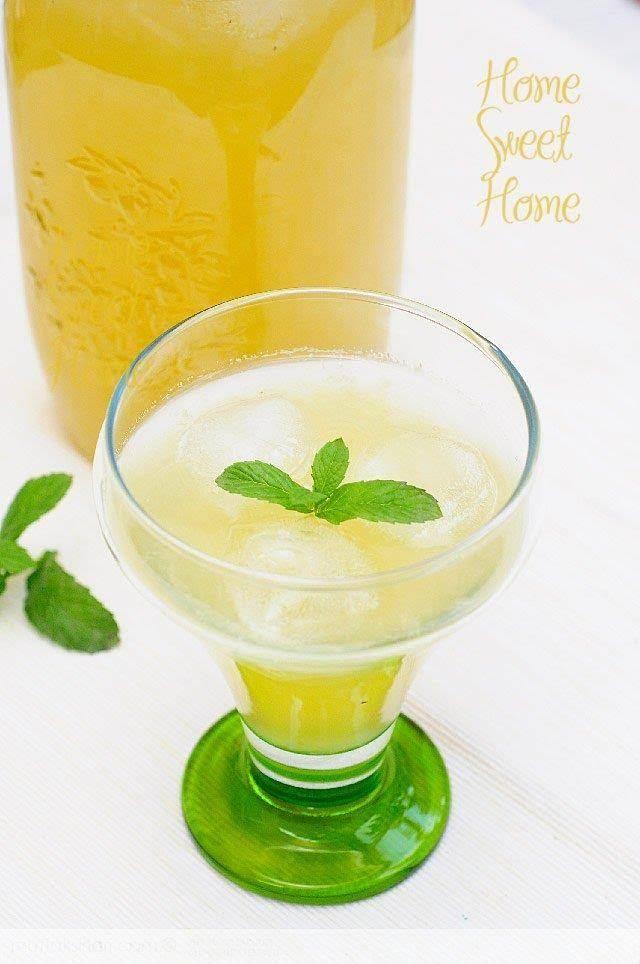 Naneli ve Fesleğenli Limonata – Mutfak Sırları – Pratik Yemek Tarifleri