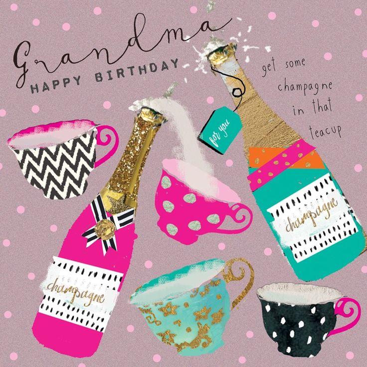 Birthday Grandma Verjaardag, Kaarten