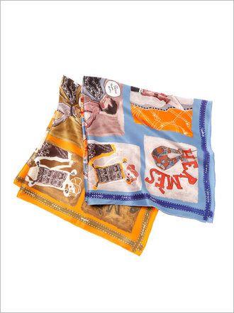 【5万円アンダー】「エルメス」のスカーフ