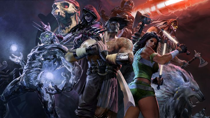 Killer Instinct Season 1 Story Mode MURAL by Wolpack.deviantart.com on @DeviantArt