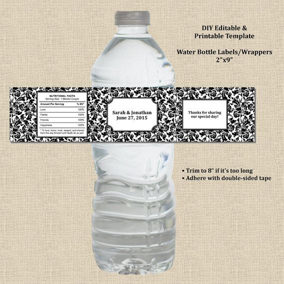 95 Best Images About Water Bottle Labels On Pinterest CV Templates Download Free CV Templates [optimizareseo.online]