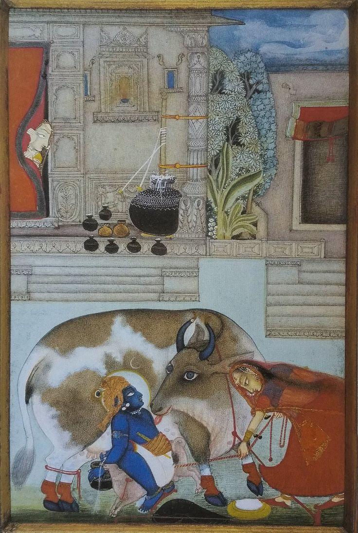 Krishna Milks. Chokha or Baijnath. Devgarh, 1824. Private Collection