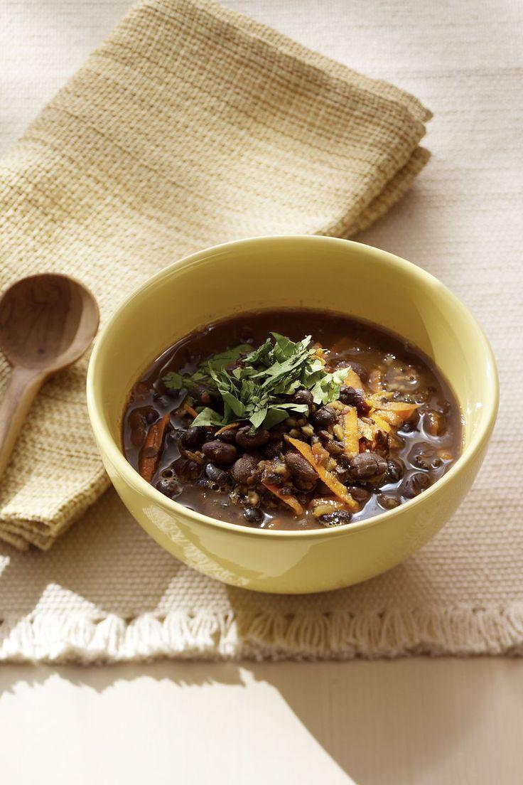 Soupe aux haricots noirs