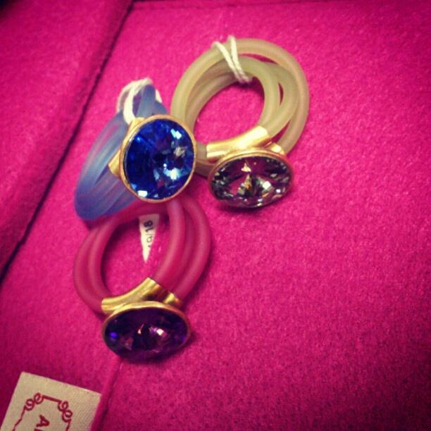 BLING BLING! #rings #modern #crystals #aniakruk #jewellery #blingbling