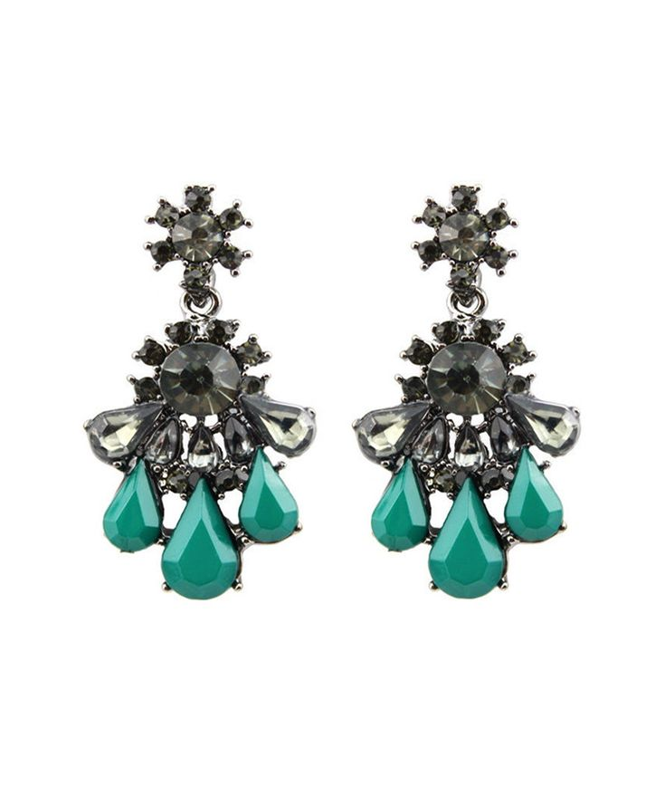 Earrings : Emerald Nightfall Earrings