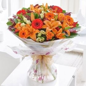 Autumn Favourites Hand tied with Chocolates *