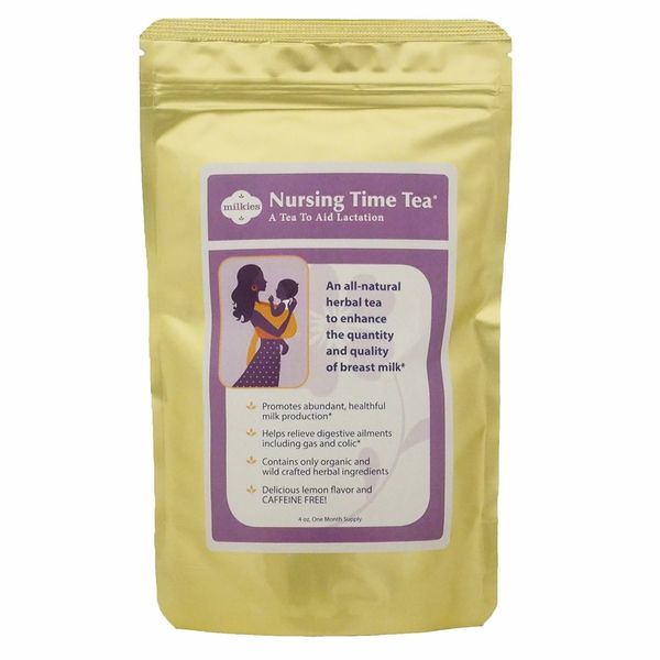 Nursing Time Tea is a safe, all-natural herbal lactation tea specifically designed to help increase the quality and quantity of breast milk.