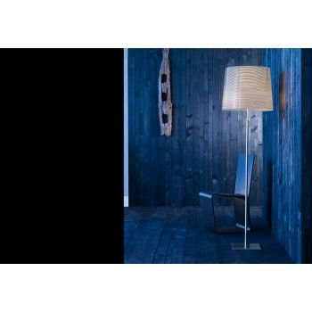 Giga lite nero - lampa podłogowa, Foscarini. #goodform #lampy #design #foscarini