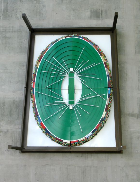 MCC Members' Atrium, Melbourne Cricket Ground, Victoria | Scoreboard pressure