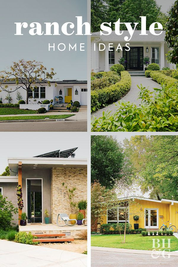 22 Ideas To Steal From Our Favorite Ranch Style Homes Ranch Style Home Ranch Style Homes Ranch Style