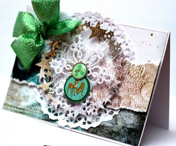 Christmas Card for PaperHaus Magazine blog hop