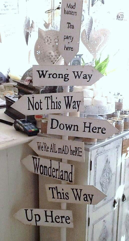 Could be fun for Alice in Wonderland Mad hatter tea party prop--could do this with card board for less $ and recycling purposes.