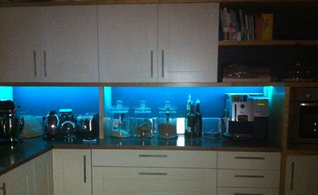 Led tape kitchen