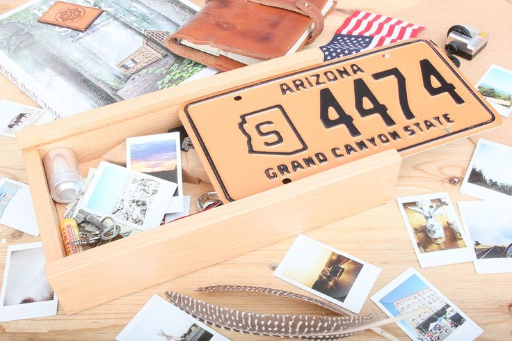 Arizona, US Licence Plate, Sliding lid, Hardwood Box, Laser Engraved, Roadtrip box, Wooden box, bespoke, by LastBoyScout on Etsy https://www.etsy.com/listing/257823273/arizona-us-licence-plate-sliding-lid