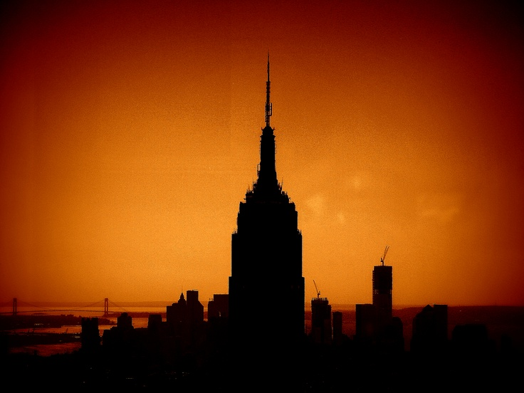 Empire state, New York, still have to get to the top though.