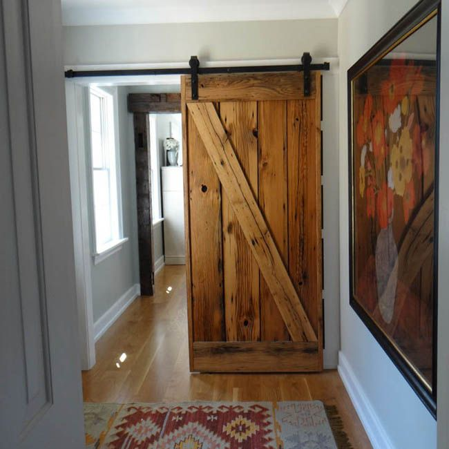 Beautiful barn door in this project by The Howland Group in the #Cincinnati area. : specialist doors - pezcame.com
