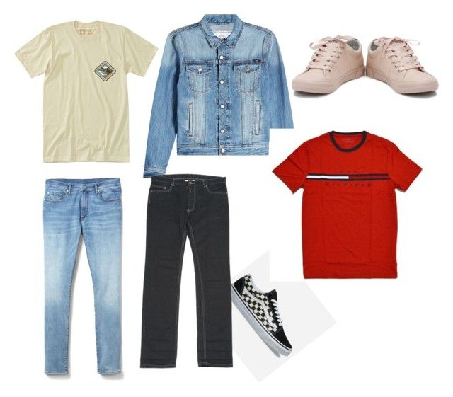 """""""Casual outfit ideas for boys"""" by reaaimee on Polyvore featuring HippyTree, Gap, AMI, Vans, Maison Margiela, men's fashion and menswear"""