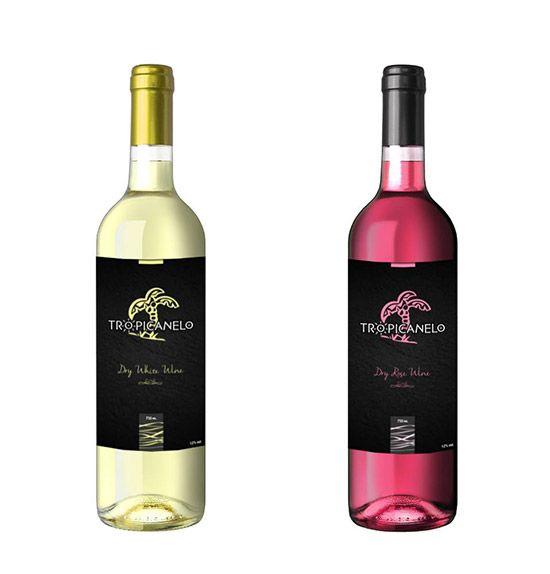 Λογότυπο + Συσκευασία για κρασί TROPICANELO για KAROUNIS WINES από SmartGraphic.GR