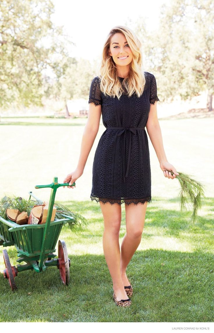 Lauren Conrad is Ready for a California Christmas in New Kohl's Photos