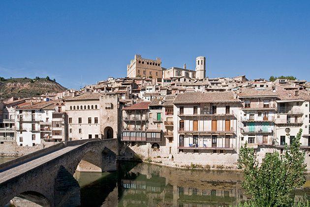 Valderrobres, parte de la pequeña Toscana en el Bajo Aragón