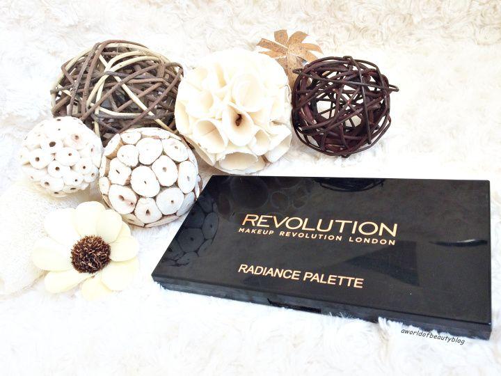 Makeup Revolution Palette surligneur Radiance avis